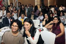Kiran Rao with a guest