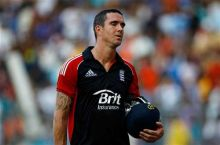 Kevin Pietersen after losing his wicket