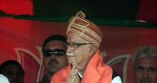 L.K. Advani during his Jan Chetna Yatra