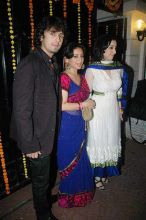Sonu Nigam, wife and friend Divya Dutta