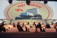 Pratibha Devsingh Patil at platinum jubilee celebrations of Maharashtra legislature