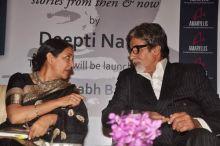 Deepti Naval and Amitabh Bachchan