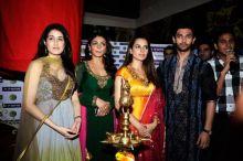 Sagarika Ghatge, Neeru Bajwa, Kangna Ranaut and Chirag Paswan