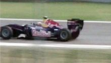 Red Bull F1 car on India's Formula One track - the Buddh International Circuit