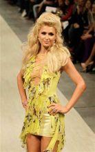 Paris Hilton at the Ukrainian Fashion Week