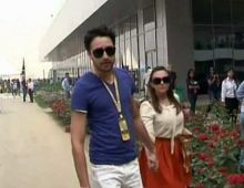 Imran Khan with wife Avantika