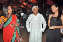 Dia Mirza, Shabana Azmi and Javed Akhtar