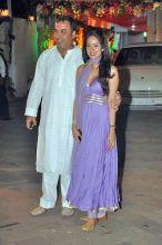 Vidya Malvade with husband