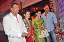 Sanjay and Manyata Dutt with Kajol and Ajay Devgan