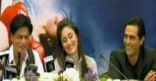 Shah Rukh Khan and Kareena Kapoor in Ra.One