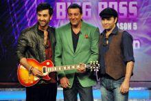 Ranbir Kapoor, Mohit Chauhan and Sanjay Dutt.
