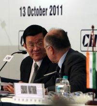 Truong Tan Sang and Farhad Forbes
