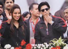 Bipasha Basu and Shah Rukh Khan