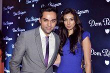 Abhay Deol with Preeti Desai