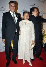 Abu Jani and Sandep Khosla with Jaya Bachchan