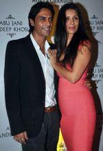 Arjun Rampal and Meher Jessia