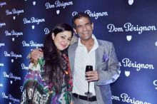 AD Singh with wife Sabina