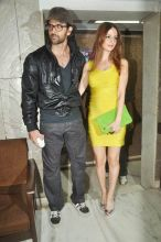 Hrithik Roshan with wife Sussane