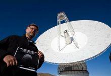 Radio telescope at Goldstone Deep Space facility