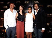 Rahul Dev, Hazel Keech, Shahana Goswami and Ali Fazal