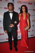 Prateik with Amy Jackson