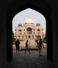 The great Humayun's tomb