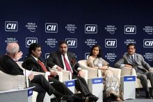 Indian summit of the World Economic Forum