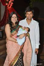 Indraneil Sengupta with wife Barkha Bisht