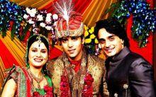 Divya Gupta and Kinshuk Mahajan with Angad Hasija