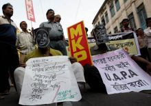 Protests against Kishenji's death