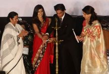 Mamata Banerjee, Koel Mallick, Shah Rukh Khan and Sharmila Tagore