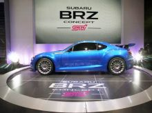 Subaro BRZ at LA Auto Show