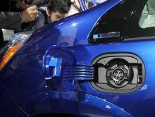 Honda Fit EV at LA Auto Show