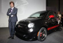Fiat 500 Abarth at LA Auto Show