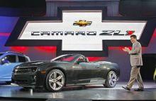 Chevrolet Camaro ZL1 convertible at LA Auto Show