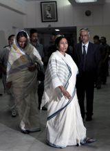 Mamata Banerjee with Dipu Moni