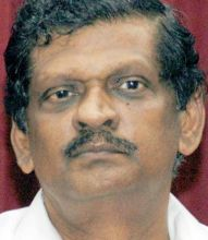 Kerala Water Resources Minister PJ Joseph.