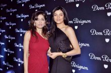 Queenie Singh with Sushmita Sen