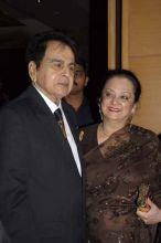 Dilip Kumar with wife Saira Banu