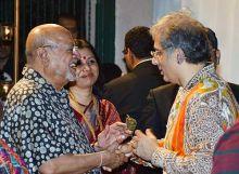 Shyam Benegal with Aditya Raj Kapoor.