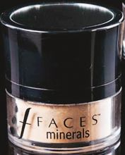 Mineral powder from Faces