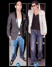 Siddharth Mallya and Shah Rukh Khan