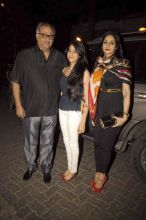 Boney Kapoor and Sridevi with their daughter