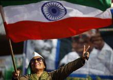 Anna's supporter in Jammu
