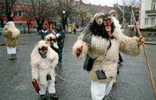Busojaras Carnival, Mohocs, Hungary