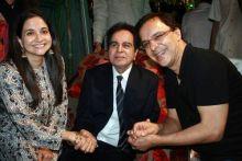 Anupama Chopra, Vidhu Vinod and Dilip Kumar