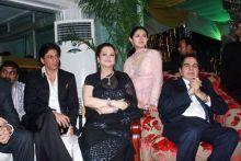 Dilip Kumar, Saira Banu and Shah Rukh Khan