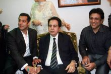 Salman Khan, Dilip Kumar and Govinda