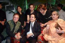 Dilip Kumar, Saira Banu, Salim Khan, Salma Khan Farida Jalal and Helen.
