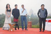 Amy Jackson, Prateik Babbar, Gautham Menon and A.R.Rahman